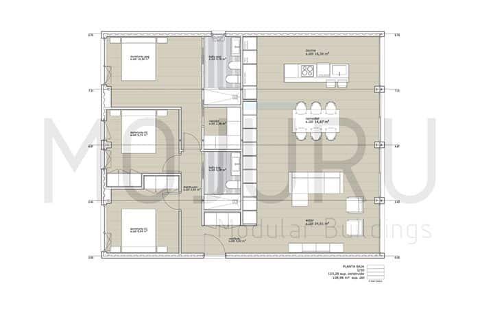 casa modular mojuru 120.3