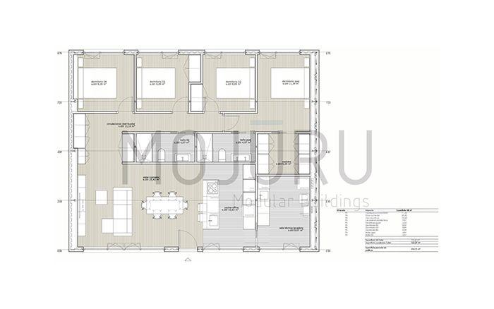 casa modular mojuru 120.4