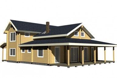 casa madera madereco vian a226
