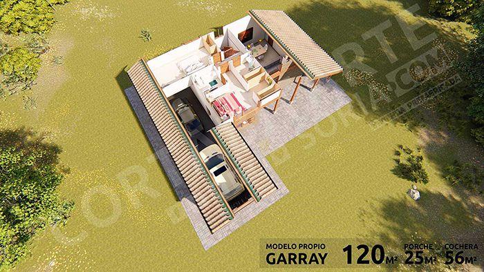 casa modular acero cortabitarte garray 12