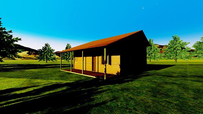 casa madera progal 120002