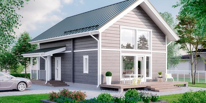 casa madera madelar chirche