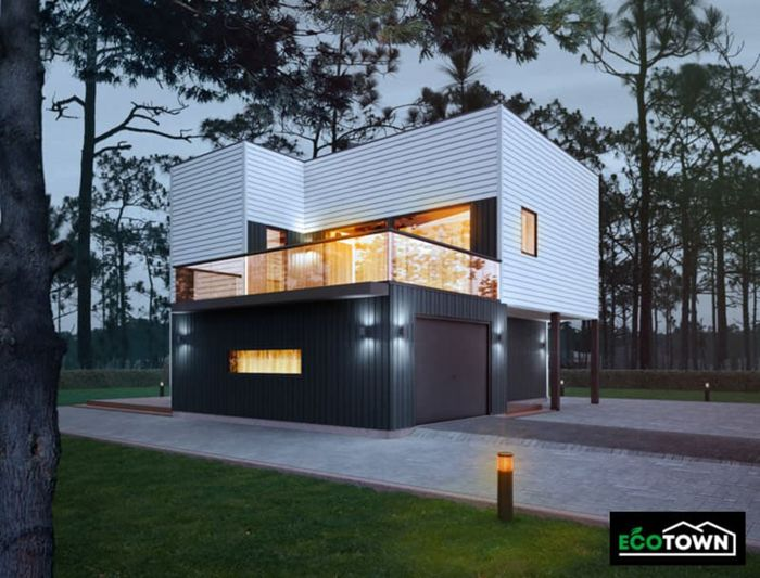 casa madera ecotown ref208