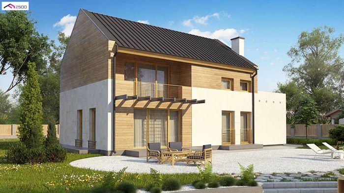casa madera techwoodhouse zx11e 1