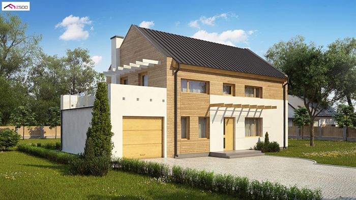 casa madera techwoodhouse zx11e