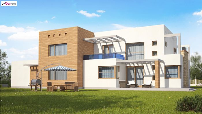 casa madera techwoodhouse zx1v2
