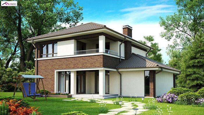 casa madera techwoodhouse zx24 1