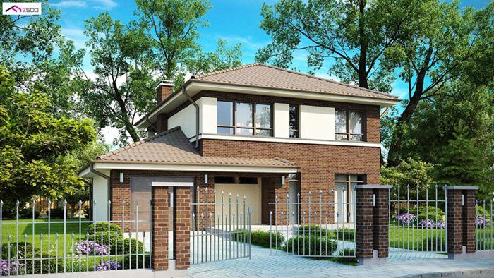 casa madera techwoodhouse zx24