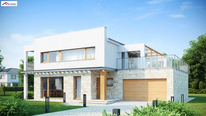 casa madera techwoodhouse zx5