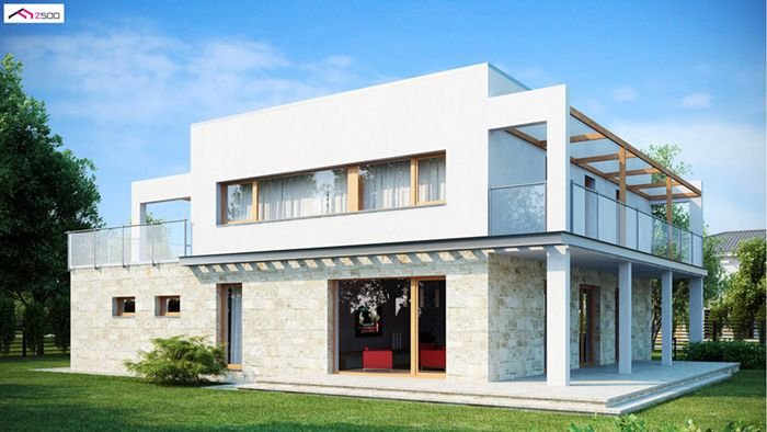casa madera techwoodhouse zx52m 1