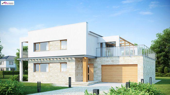 casa madera techwoodhouse zx52m