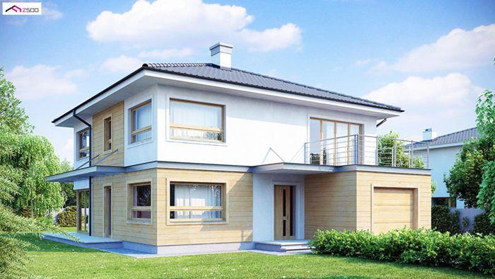 casa madera techwoodhouse zx7