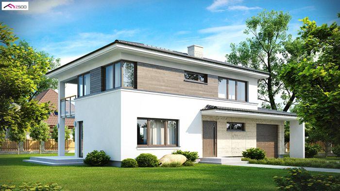 casa madera techwoodhouse zx8