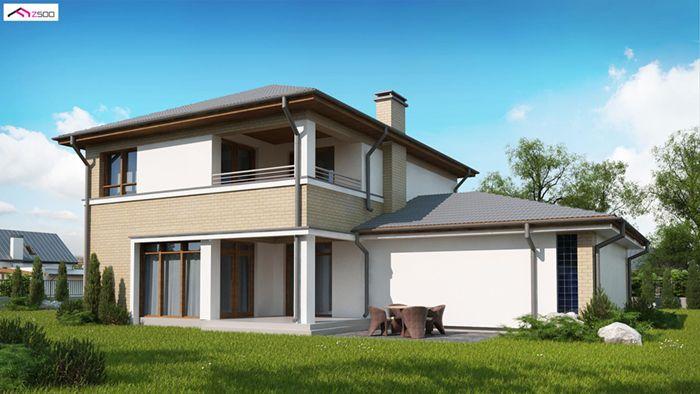 casa madera techwoodhouse zx24gl2 1
