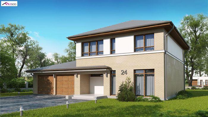 casa madera techwoodhouse zx24gl2