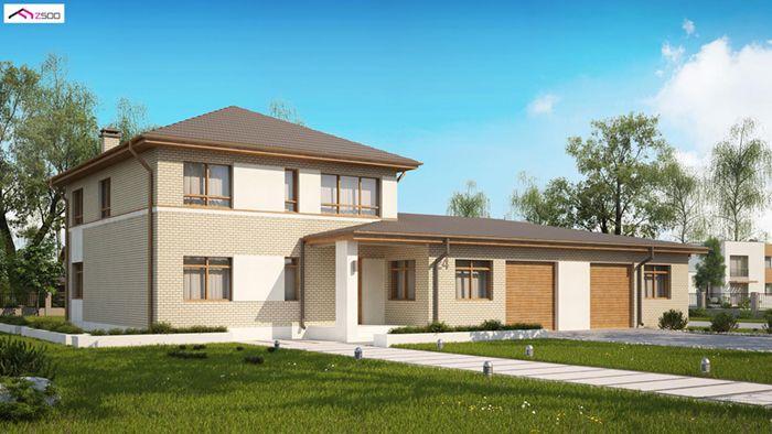 casa madera techwoodhouse zx24lbdgp 1
