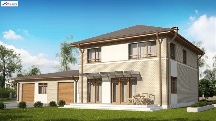 casa madera techwoodhouse zx24lbdgp