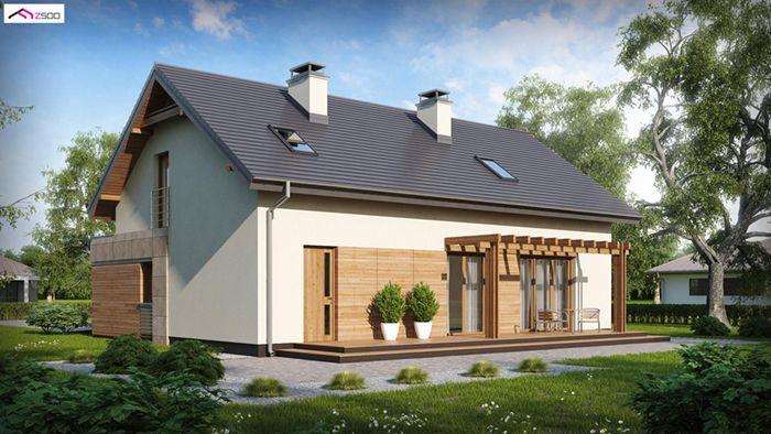 casa madera techwoodhouse zx35gl2hb 1 1