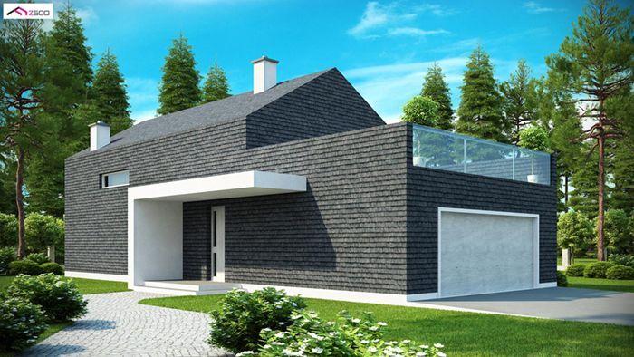 casa madera techwoodhouse zx40