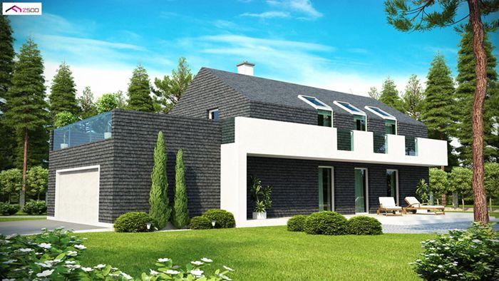 casa madera techwoodhouse zx402m 1