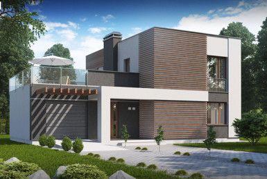 casa madera techwoodhouse zx41v1