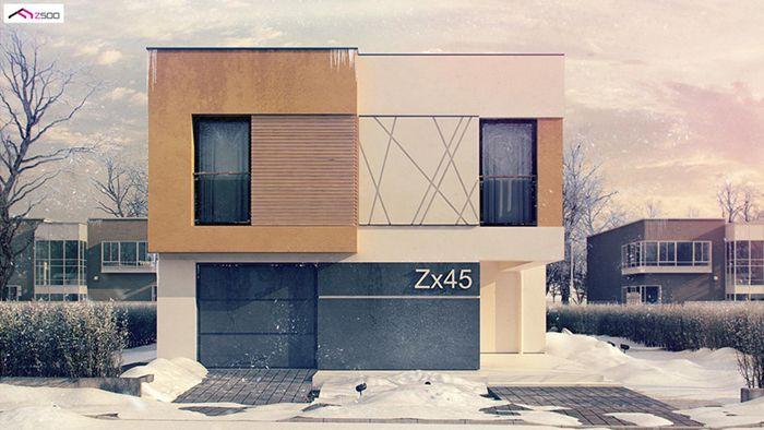 casa madera techwoodhouse zx45