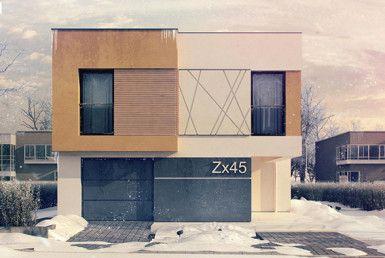 casa madera techwoodhouse zx452m