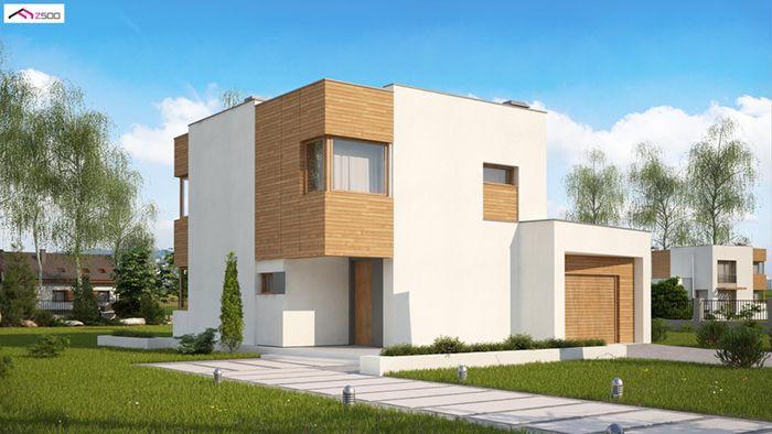 casa madera techwoodhouse zx51gp