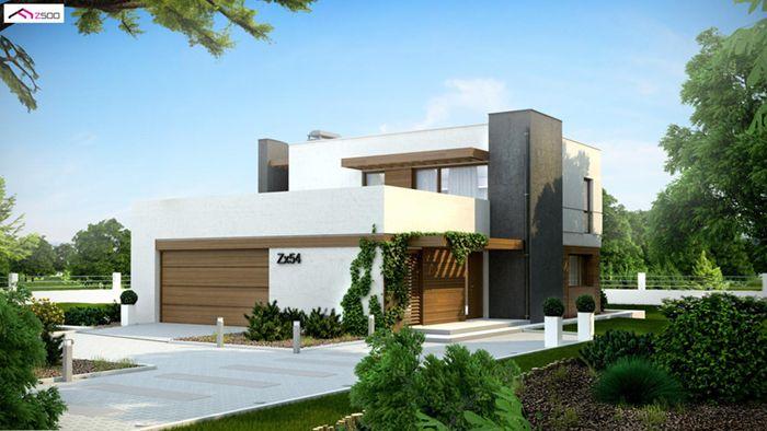 casa madera techwoodhouse zx54