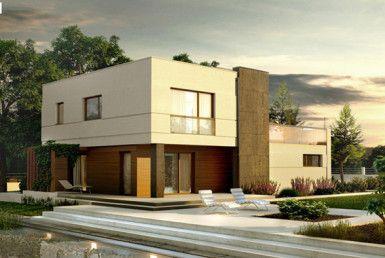 casa madera techwoodhouse zx54nf40