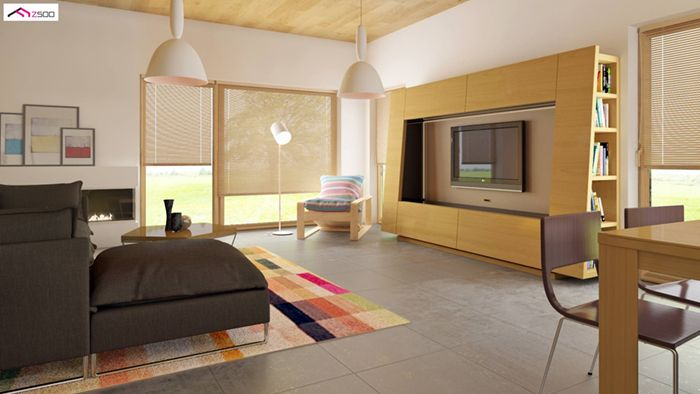 casa madera techwoodhouse zx54nf407