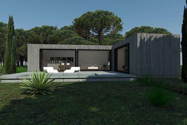 casa modular acero hkub 070c
