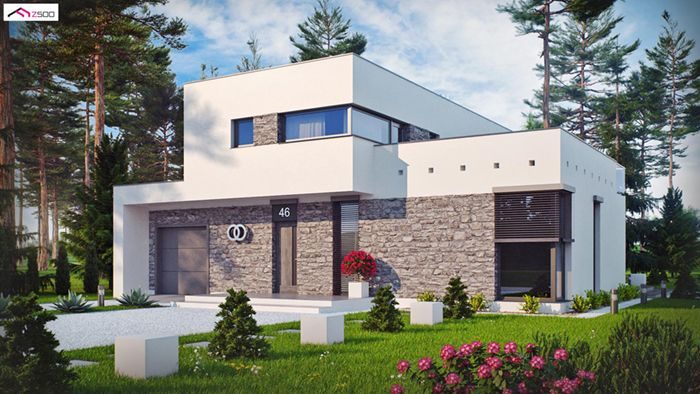 casa madera techwoodhouse zx46