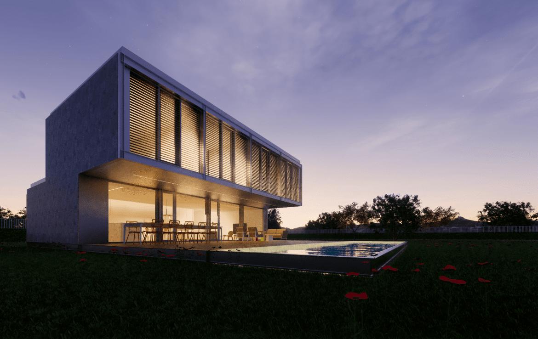 Casa prefabricada modular met lica acero certificada passivhaus dise o modern 1 min 1