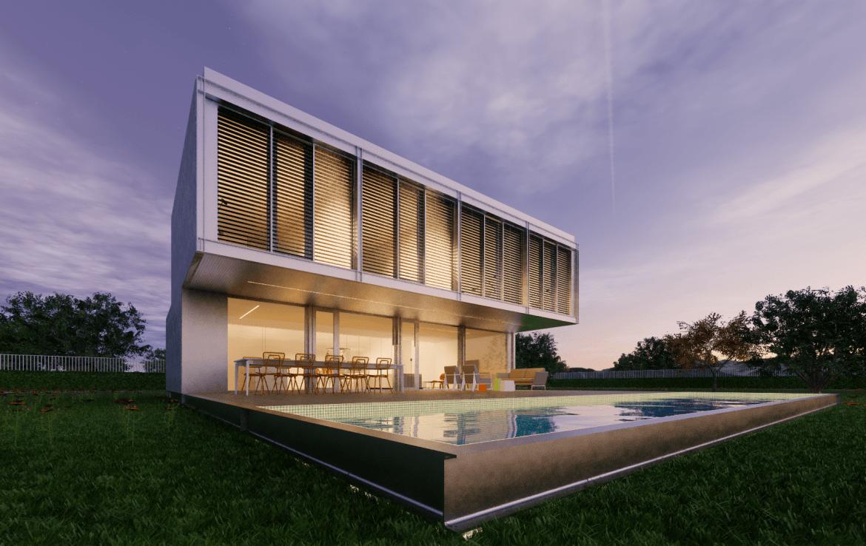 Casa prefabricada modular met lica acero certificada passivhaus dise o modern 10 min 1
