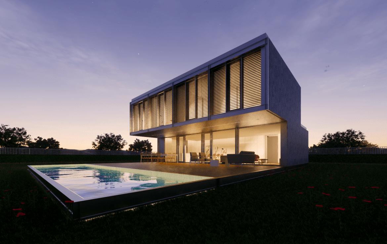 Casa prefabricada modular met lica acero certificada passivhaus dise o modern 5 min 1