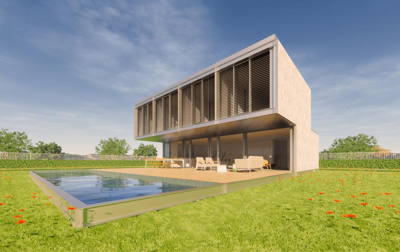 Casa prefabricada modular met lica acero certificada passivhaus dise o modern 6 min 1