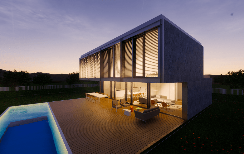 Casa prefabricada modular met lica acero certificada passivhaus dise o modern 8 min 1
