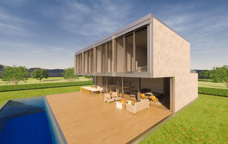 Casa prefabricada modular met lica acero certificada passivhaus dise o modern 9 min 1