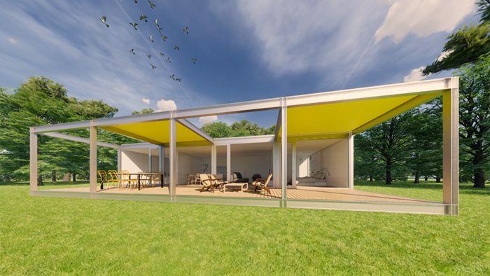 casa modular csoarquitectura modelo90