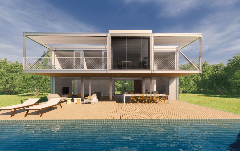 Casa prefabriada modular 2 plantas met lica dise o passivhaus casa pasiva 35 min