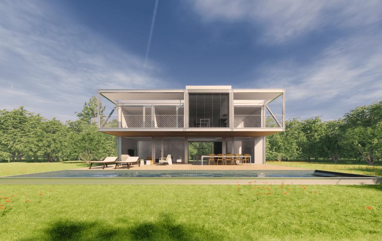Casa prefabriada modular 2 plantas met lica dise o passivhaus casa pasiva 8 min