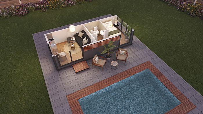 casa acero hormigon housematic okavango 5