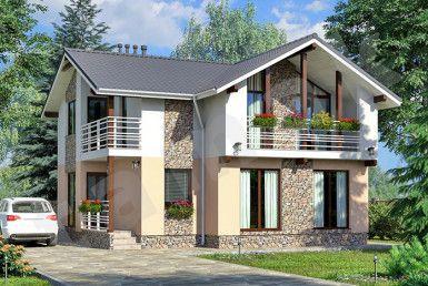 casa madera gsiconstructora modelo145