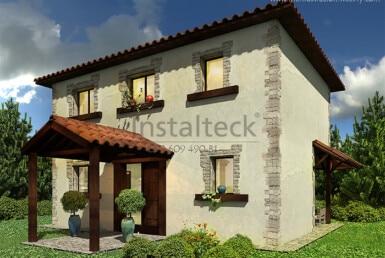 casa acero instalteck inteck109b